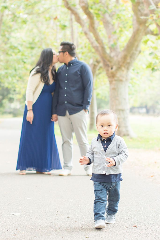 Beautiful family photo session in Alameda with Oakland photographer Jackie Rutan.