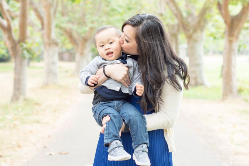 Mommy and me mini sessions in Alameda for Mother's Day.